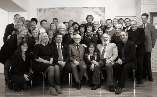 Fra jubileumsfesten på Lian restaurant 21. november 2013. Foto: Marina Knudsen