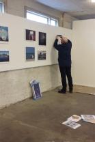 Montering av utstilling TKK