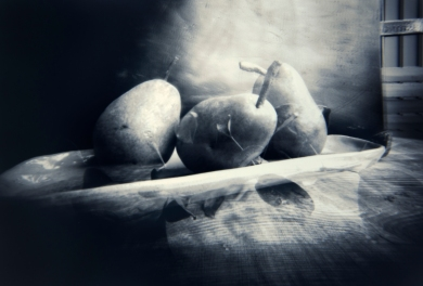 "Mona Wisth ""Pears through a pinhole"""