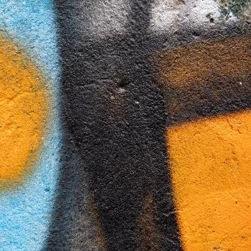 Foto: Ommund Øgård   Tittel: Graffiti 2   Sted: Bakgård i Brattørveita