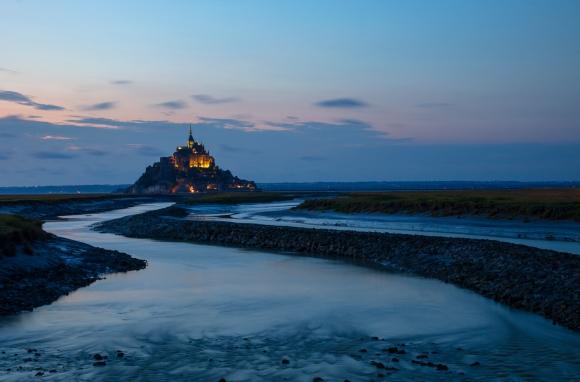 """Wenche Aune """"Mont-Saint-Michel"""""""