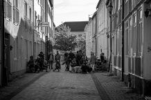 Foto: Olaf Aune | Tittel: TKK i veita | Sted: Taraldsgårdsveita | Når TKK-gjengen er ute på foto-event ser det ofte slik ut