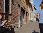 Foto: Olaf Aune | Tittel: På benken | Brattørveita | Veitflørt