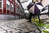 Foto: Lise Sørensen | Tittel: Stolt fortid, men hva med framtiden? | Sted: Brattørveita | På tur med en ihuga RBK fan i Brattørveita. Med uro rundt trenerbytte, og noen dårlige kamper bak seg, synes jeg dette bildet symboliserer usikkerheten som det er rundt laget for tiden.