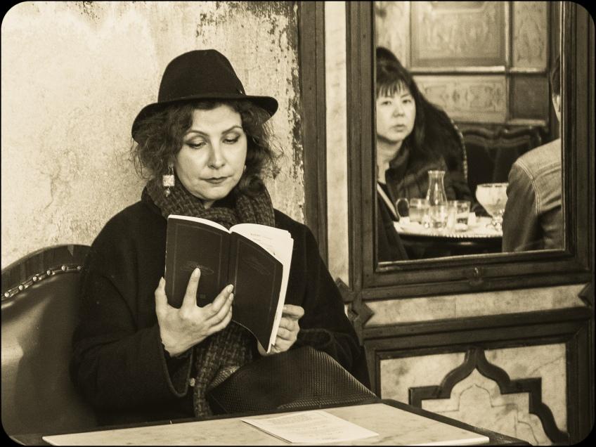 """Anne Katharine Dahl - """"The reader"""""""