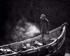 Sharon Burgos «The fisherman and the morning minst»