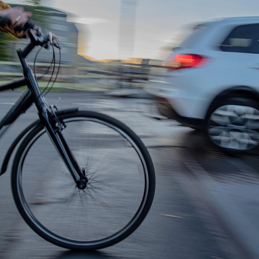 """Viktor Berge, """"På hjul"""""""